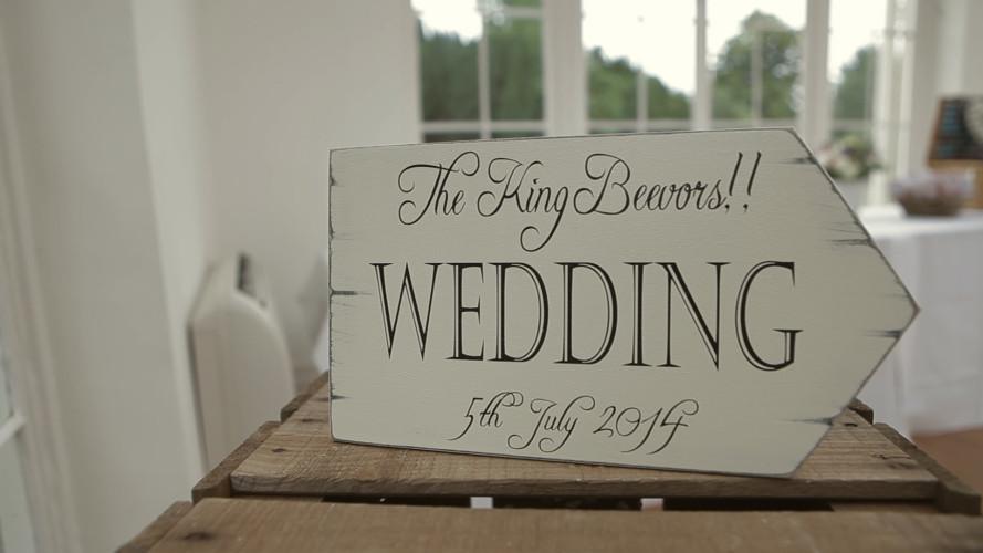 Emma & David - Wedding Video Northamptonshire