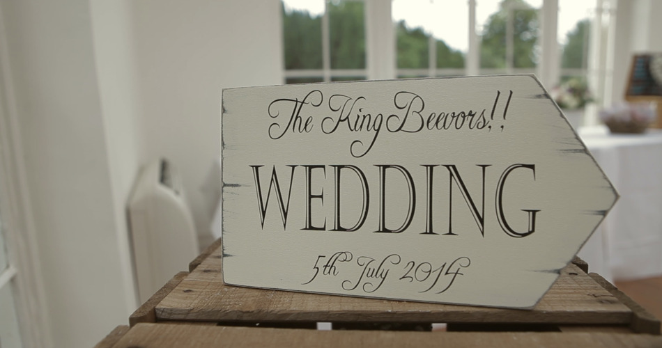 Emma & David - Wedding Video Northamptonshire