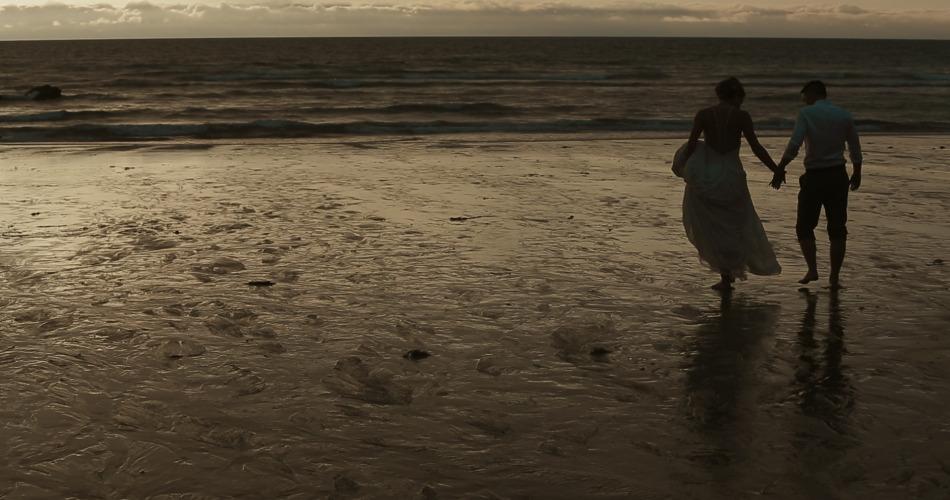 Amie & Marc - Wedding Video Lusty Glaze Beach