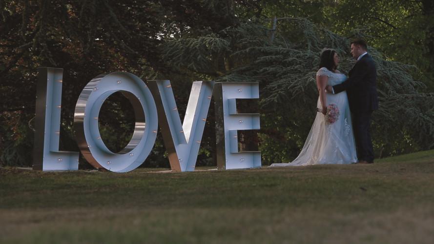 Charlotte & Luke - Wedding Video Barton Hall Northamptonshire