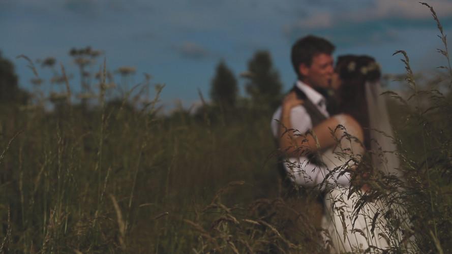 Rachel & Ben - Tipi Wedding Video Leicestershire