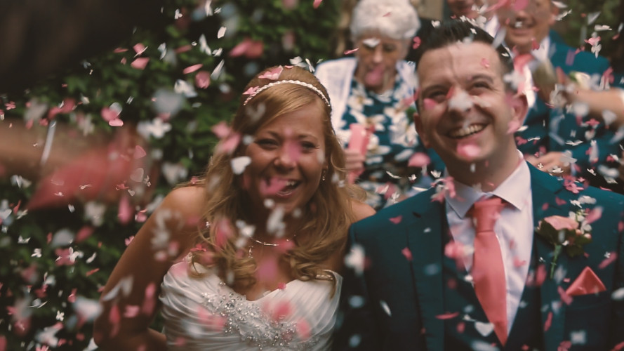 Tiffany & Richard Wedding Video Mallory Court Hotel Warwickshire