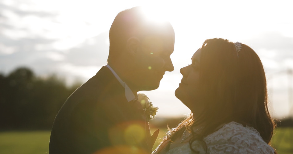 Sarah & Adam Wedding Video Mythe Barn Warwickshire