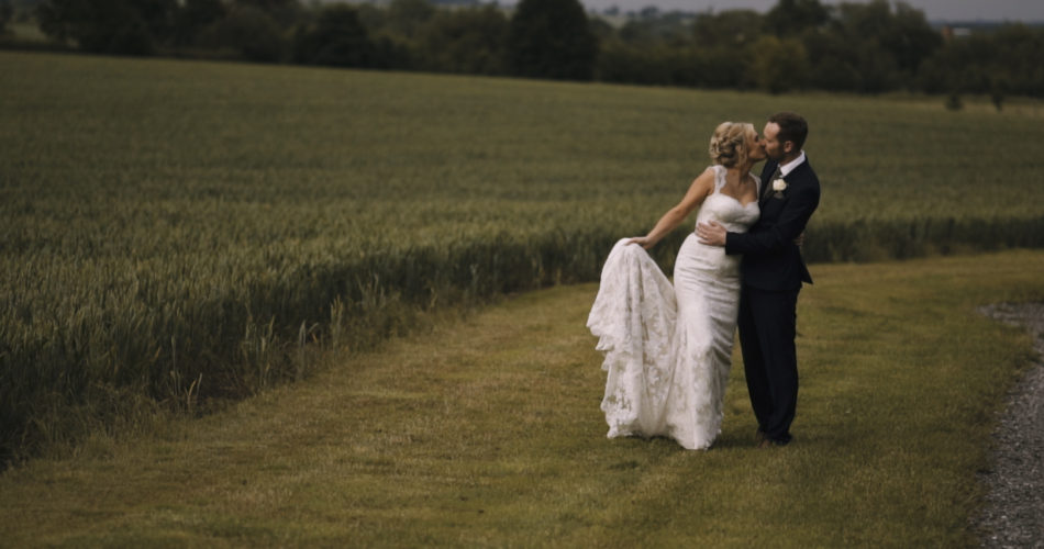 Charlotte & Simon Wedding Video Mythe Barn Leicestershire
