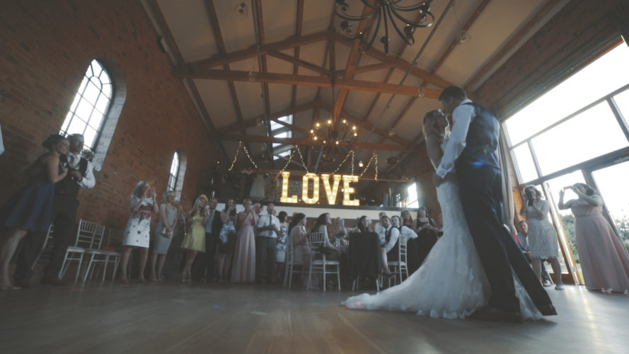 Clare & Andy Wedding Video Nottinghamshire