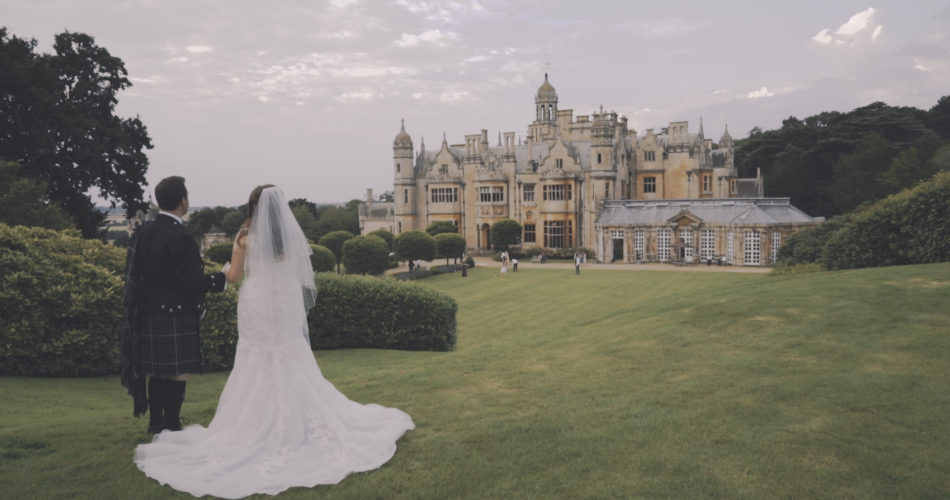Jen & Hamish Wedding Video Harlaxton Manor Lincolnshire