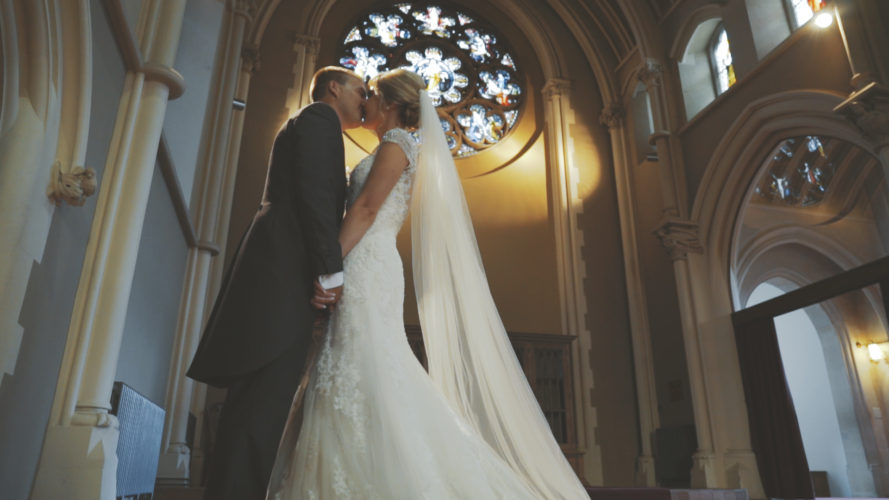 Laura & Adam Wedding Video Stanbrook Abbey Worcestershire