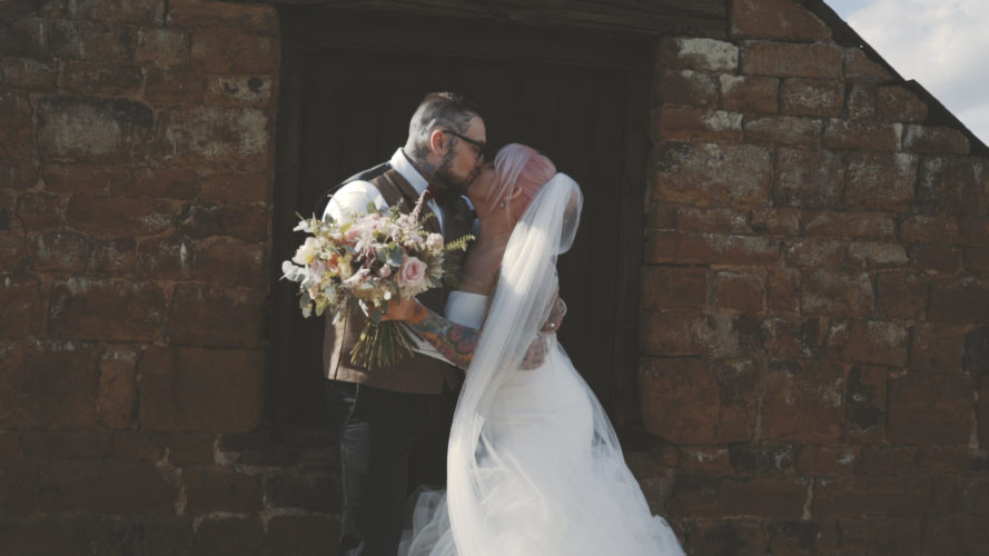 Jess & Haydn Wedding Video The Barns Hunsbury Hill Northamptonshire