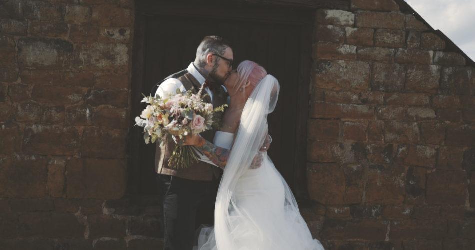 Jess & Haydn Wedding Video The Barns Hunsbury Hill Northamptonshire