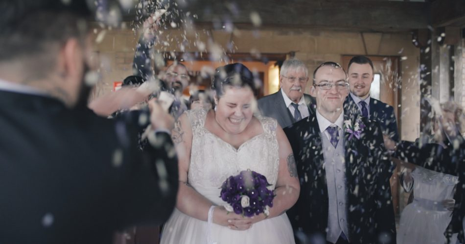 Tracey & James Wedding Video Kettering Park Northamptonshire